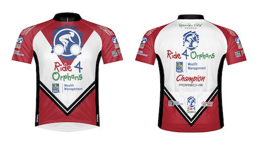 Men's Ride 4 Orphans Jersey by Primal Wear