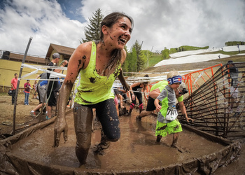 Kyocera Mountain Mud Run