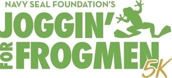 Joggin' For Frogmen - San Diego 5K logo