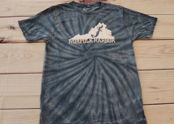Virginia Mermaid Tie-Dye Tee