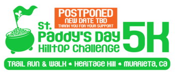 St. Paddy's Day 5K POSTPONED new date TBD