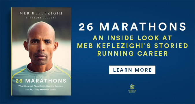 Don't miss Meb's new book