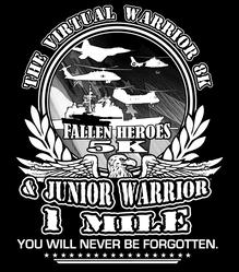 The VIRTUAL Warrior 8K Challenge, Fallen Heroes 5K & Jr Warrior 1 Mile