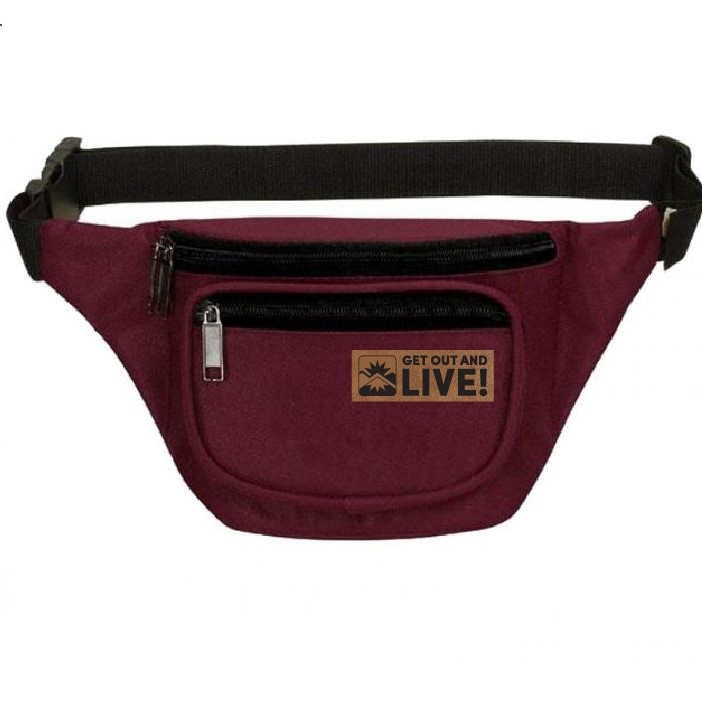 Maroon - GOAL Fanny Pack