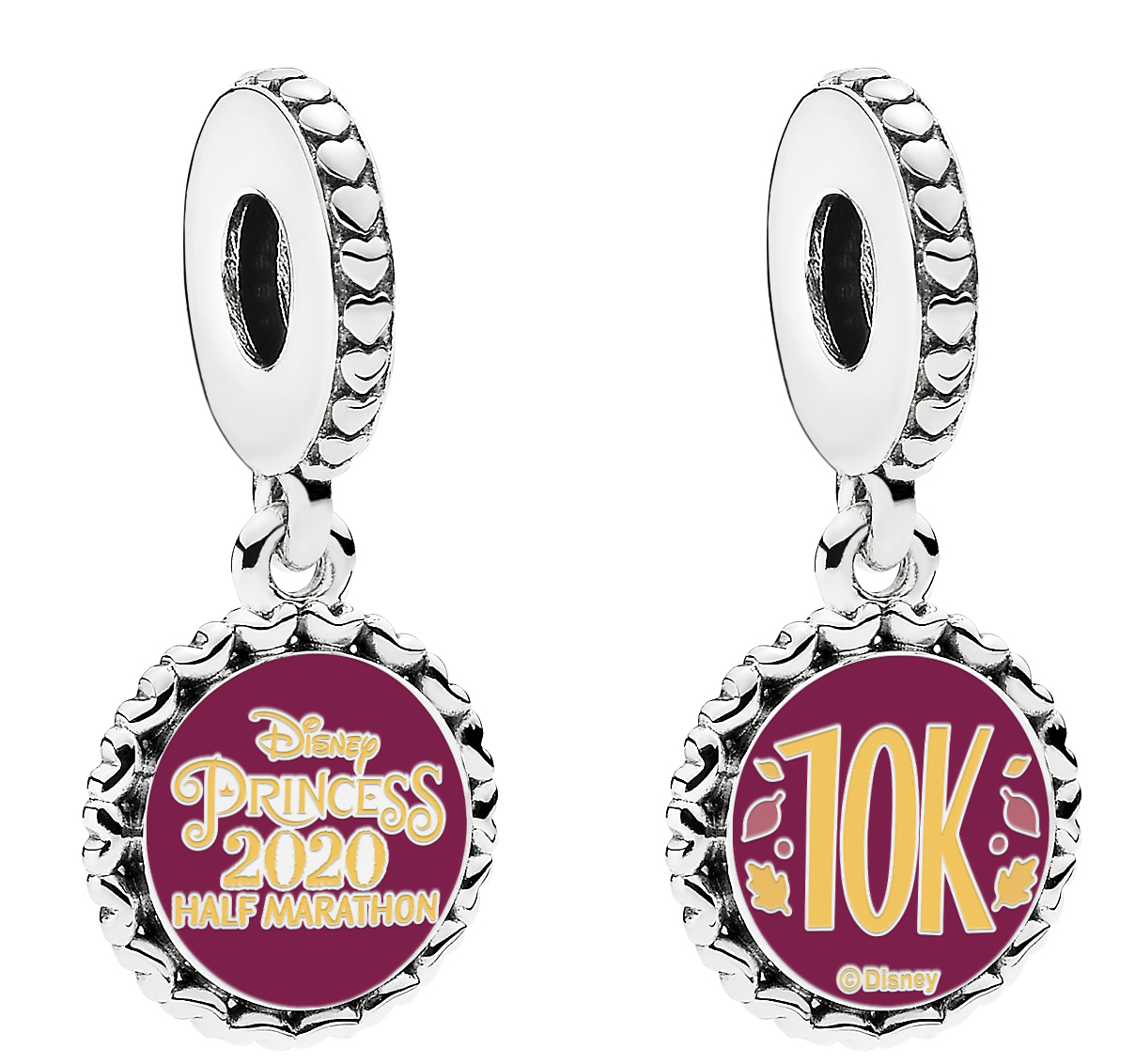 Pandora 10K Charm   Disney Princess Half Marathon Weekend