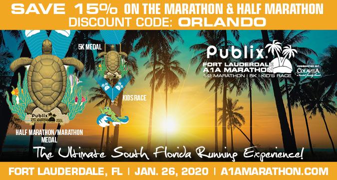 Publix Fort Lauderdale A1A Marathon & Half Marathon