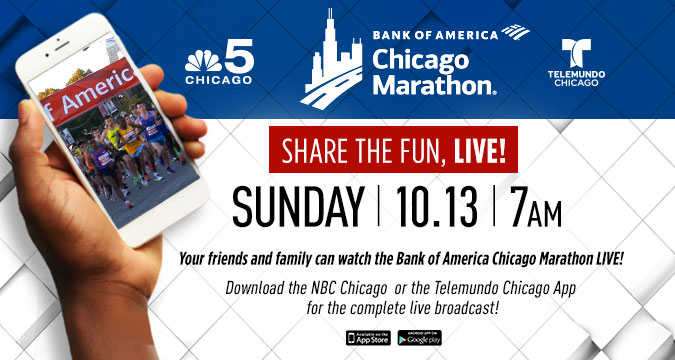 Watch live Race Day coverage on your phone!