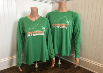 Shamrock In Training Tech Shirt