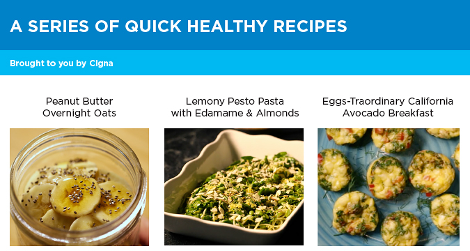 Quick and healthy recipes Image