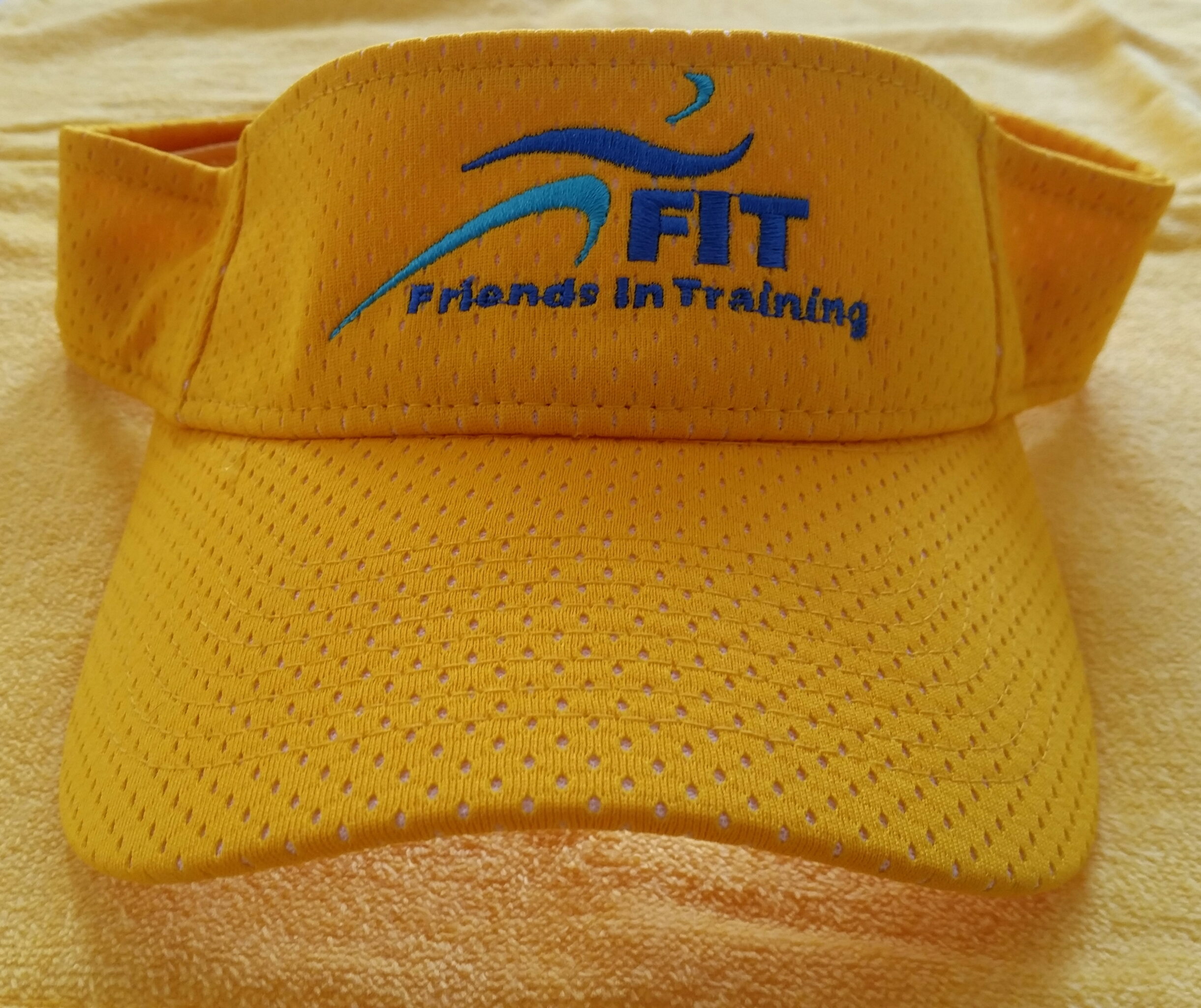Yellow FIT Visor