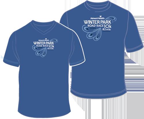 Winter Park Road Race 10k & 2 Mile Shirt