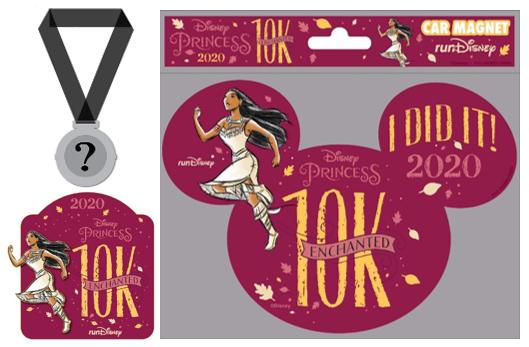 Disney Princess Enchanted 10K   Runner Bundle