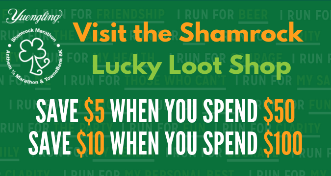 Get Your Shamrock Swag In The Lucky Loot Shop!