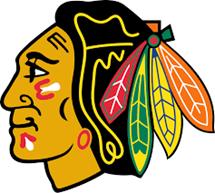 Chicago Blackhawks Hockey Logo