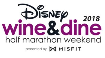 Disney Wine & Dine Half Marathon Weekend presented by MISFIT™ logo