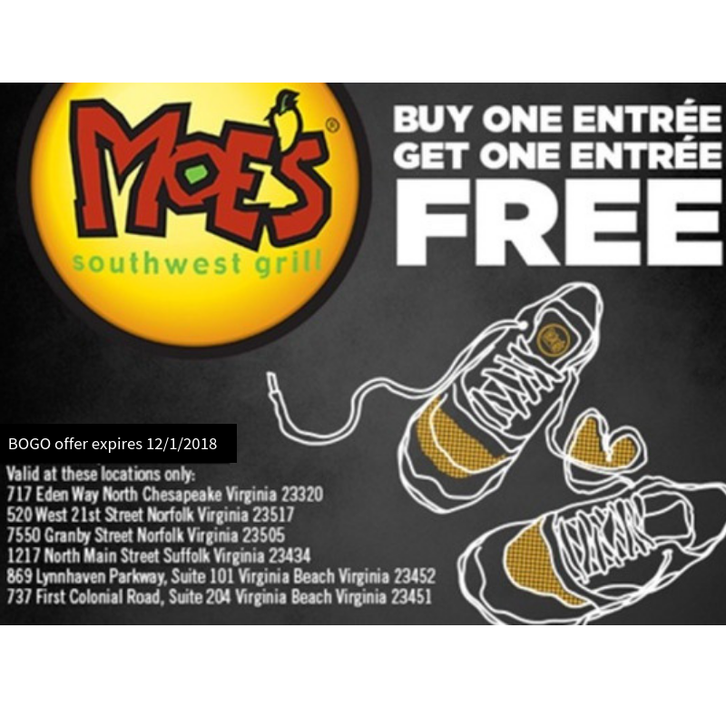 Fuel Up After Your Race at Moe's Southwest Grill