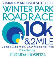 ZKS Winter Park Road Race 10k & 2 Mile presented by Florida Hospital