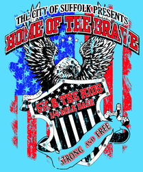 Home Of The Brave 5k & Kids 1/4 Mile Dash logo