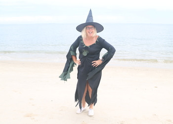 Witch Dress & Hat