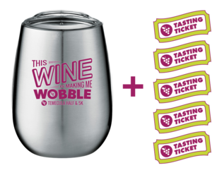 Sippy Cup + 5 FREE Tasting Tickets - Wobble