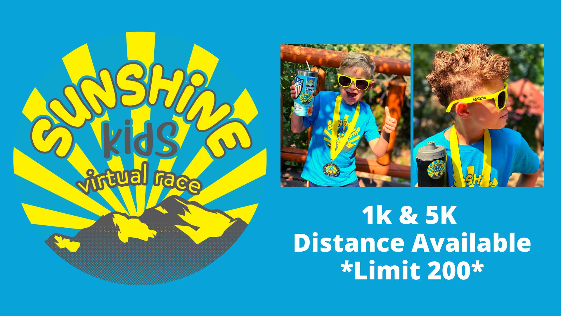 Sunshine Kids Virtual 1K | 5K