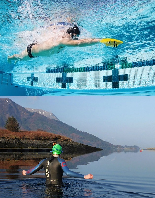 Indoor Pool & Open Water Swim Training - COMBINED
