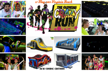 The Glowing Crazy Run 2019 logo
