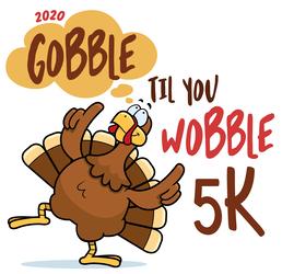 Gobble Til You Wobble 5K