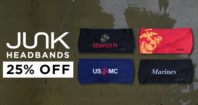 JUNK Headbands - 25% Off