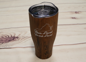 RUN LOCAL DRINK LOCAL TUMBLER