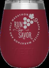 YETI Rambler Insulated Wine Tumbler (Harvest Red)