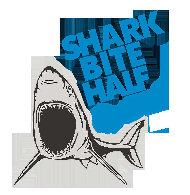 SAVE 15% - SHARK BITE HALF WEEKEND Logo