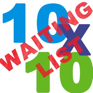 Waiting List 10x10