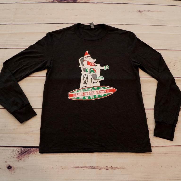 Beach Santa T-shirt