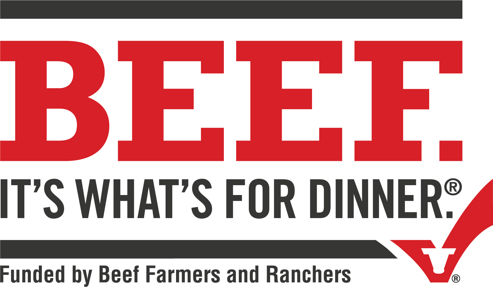 Nicely Done, Beef. Sticker Logo