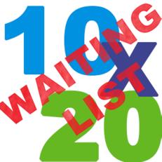10x20 Waiting List Tent