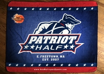 Patriot Half Blanket