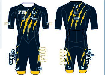 Tri Champion Carbon Aero Speed Suit (One Piece with Sleeves)