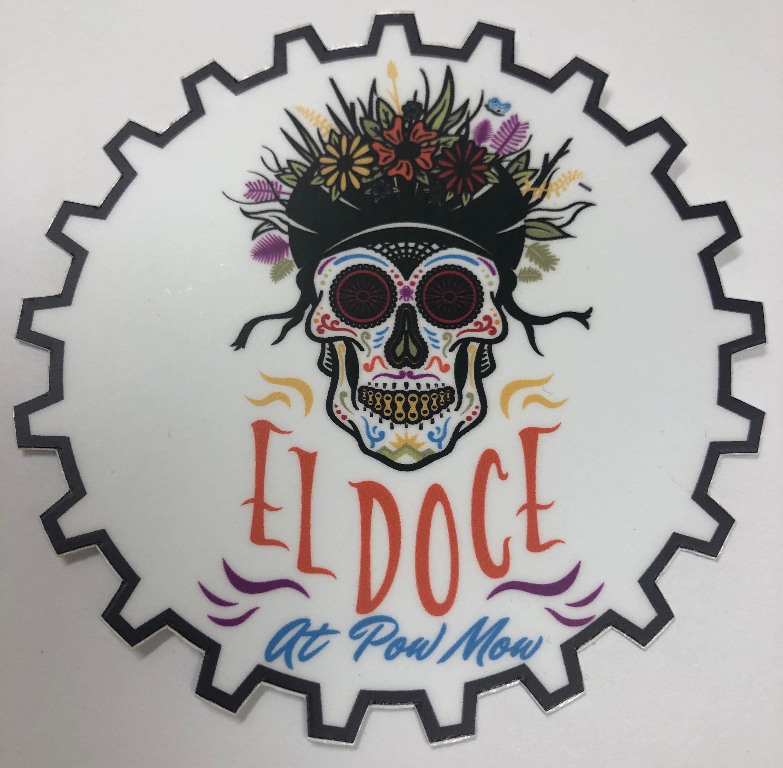 El Doce Vinyl Sticker