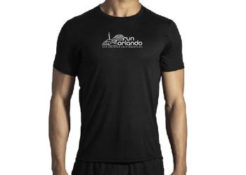 Brooks Men's Distance Short Sleeve - Black