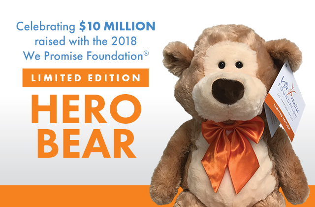 We Promise HERO Bear Image