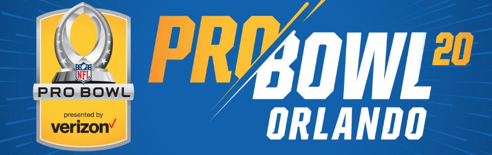NFL Pro Bowl - Orlando  Logo