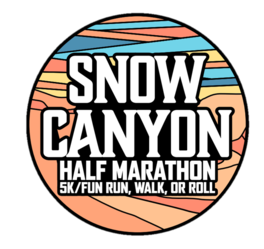 Snow Canyon Half,  5K & Fun Run Walk N' Roll