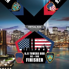 9-11 Memorial Towers Virtual Run logo