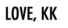 Love, KK