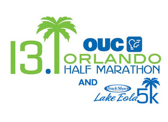 OUC Orlando Half Marathon & Track Shack Lake Eola 5k