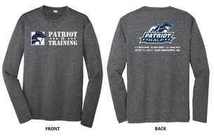 Patriot Half - In Training - Long Sleeve Workout Shirt