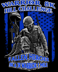 The Warrior 8K Challenge, Fallen Heroes 5K & Jr Warrior 1 Mile