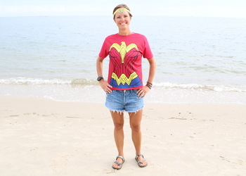 Wonder Woman Shirt/Headband
