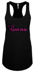 Ladies Cotton-Poly Tank - Black